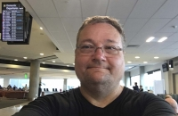 Letztes Selfie in Neuseeland