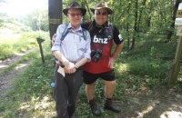 Mein Kumpel Hans und ich