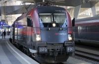 Dieser Railjet brachte mich von Wien nach Bregenz