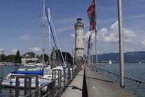 Leuchtturm im Lindauer Hafen