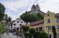 Blick auf die Stadt Meersburg