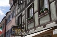 Hausfassade in Meersburg