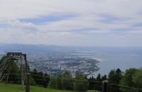 Blick auf den Bodensee vom Bregenzer Pfänder
