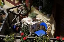 Kleiner Balkon in Meersburg