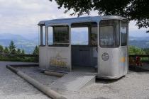 Alte Gondel der Pfänderbahn
