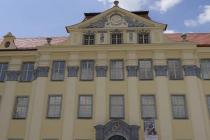 Vor dem Schloss in Tettnang
