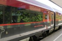 Dieser Railjet brachte mich von Bregenz nach Wien