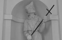 Statue in der Rochuskapelle