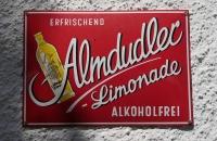 Alte Almdudler-Werbung