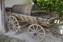 Hölzerner Leiterwagen