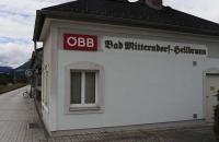 Bahnstation Bad Mitterndorf Heilbrunn