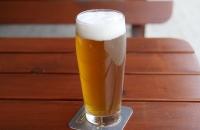 Schmeckt sehr gut, das selbstgebraute Bier