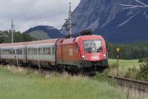 Regionalexpress nach Wien
