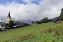 Pferdeweide mitten in Bad Mitterndorf