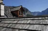 Alte Dächer in Hallstatt