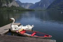 Boote in Hallstatt