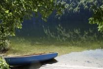 Verlassenes Boot am Toplitzsee