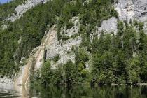 Kleiner Wasserfall am Toplitzsee