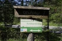 Den Mariazeller Land Rundwanderweg ging ich heute
