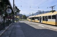 Eine Himmelstreppe Garnitur im Bahnhof Mariazell