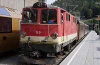 Der Ötscherbär in Richtung Mariazell unterwegs