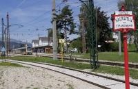 Bahnhof von Mariazell mit Himmelstreppe