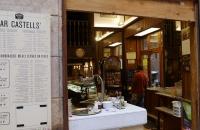 Eines der vielen, kleinen Cafes