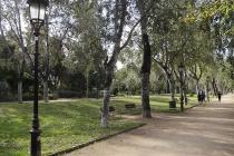 Großer Park in Barcelona