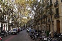 Straße mit alten Gebäuden