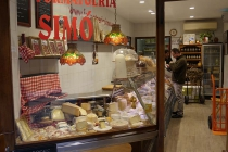 Käsegeschäft im gotischen Viertel