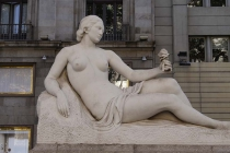 Skulptur mit Eis :-)