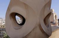 Schornstein der Casa Milà