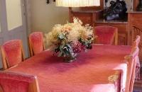 Tisch in der Casa Milà