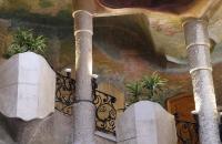 Stiegenhaus der Casa Milà