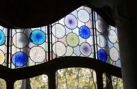 Fenster in der Casa Batlló