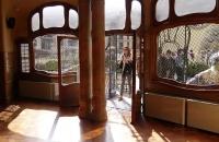Raum und Terasse der Casa Batlló