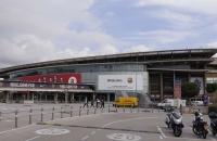 Camp Nou Stadion von außen