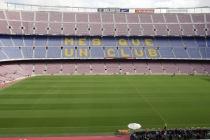 Spielfeld des Camp Nou
