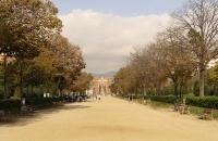 Parc de La Ciutadella mit Arc De Triomf