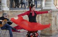 Flamenco-Vorführung am Plaza des Espana