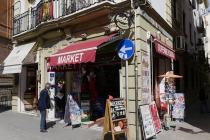 Eines von vielen, kleinen Geschäften in der Innenstadt