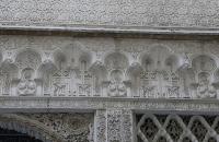 Verzierungen in einem der Höfe des Alcazar