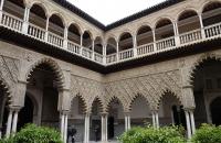 Einer der Innenhöfe des Alcazar