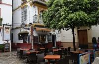 Nettes, kleines Restaurant im Viertel Santa Cruz