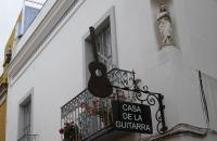 Das Haus der Gitarre - hier gibt es Flamenco zum Bewundern