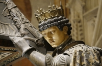 Kopf einer der spanischen Könige