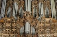 Teile der Orgel