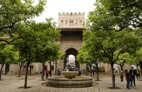 Tor des Hofs zur Kathedrale