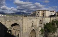 Die berühmte Steinbrücke von Ronda