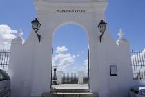Portal zum Aussichtspunkt in Arcos De La Frontera